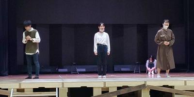 今年初稽古ー!!楽しみました! 期間限定劇団 座・神戸市民劇場