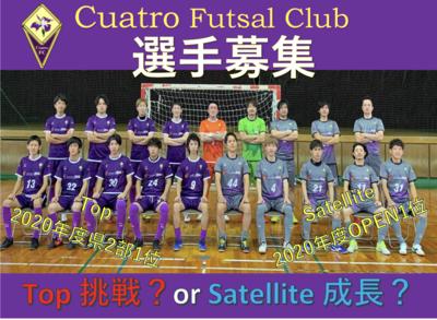プロフィール|Cuatro Futsal Club